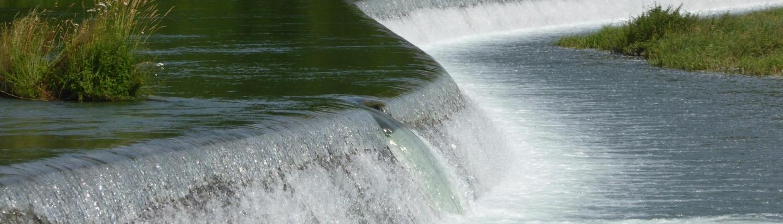 Landschaft planen Fluss Stufe