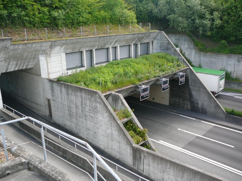 Landschaftsgestaltung Tunnelportal West ZH